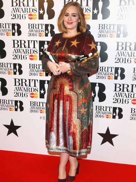 Adele The Brits 2016