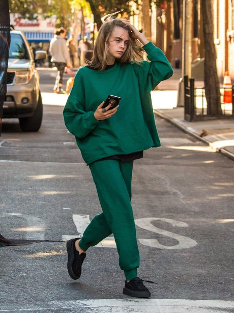 Cara Delevingne out and about in New York