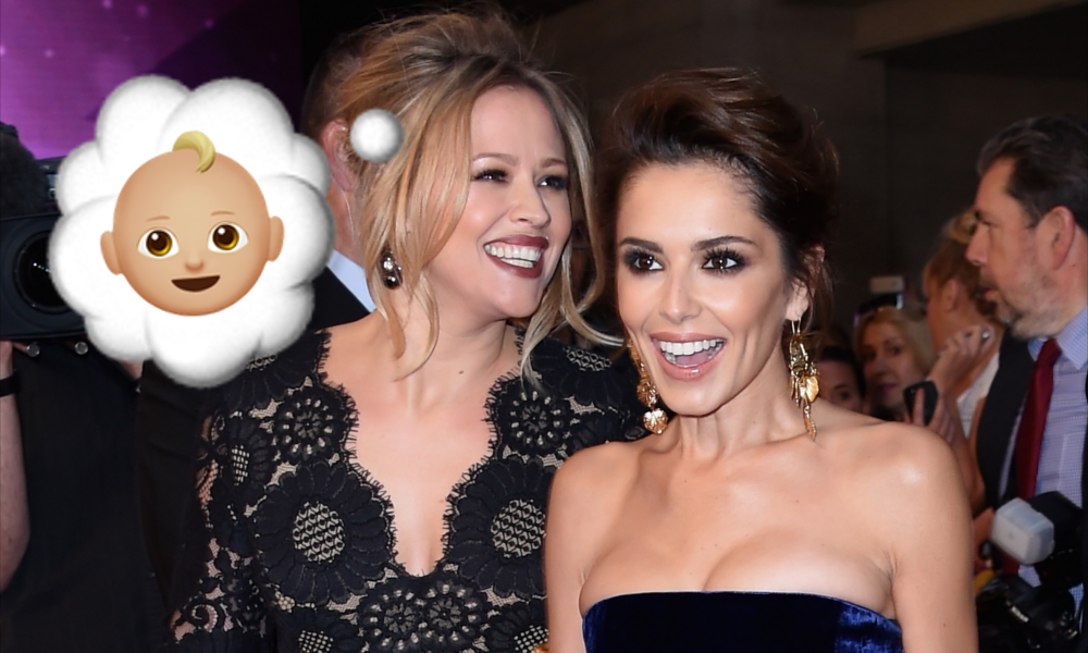 Cheryl and Kimberley Baby Rumours
