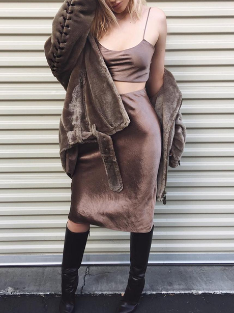 Kylie Jenner slays in metallic co-ord