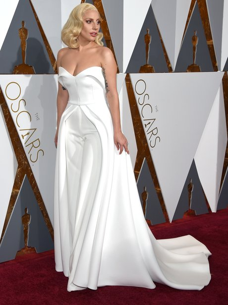 Lady Gaga The Oscars 2016