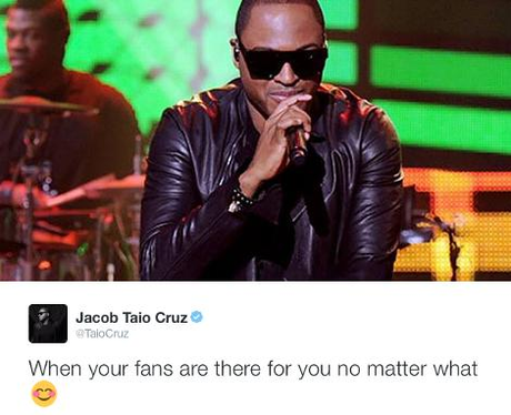 Tweets of the Week - 14 October 2016 - Taio Cruz