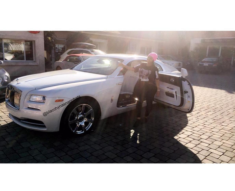 Blac Chyna gets a brand new Rolls Royce like the i