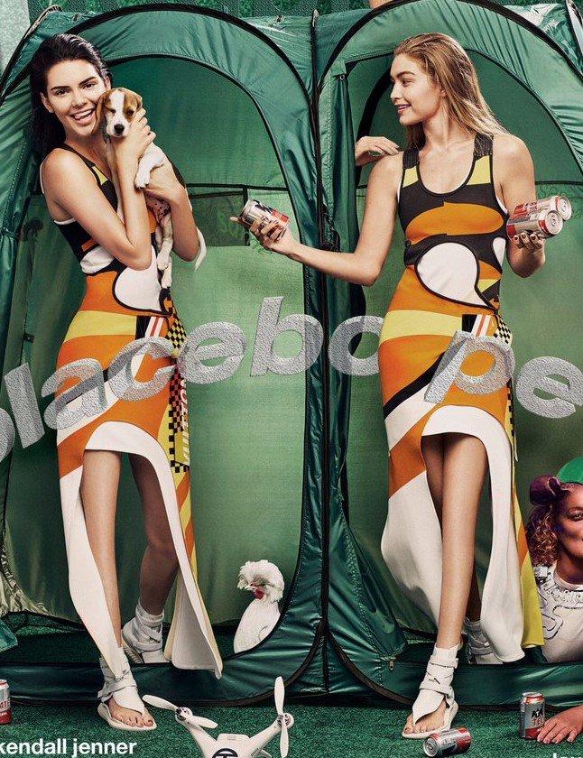 Kendall Jenner and Gigi Hadid photoshop fail