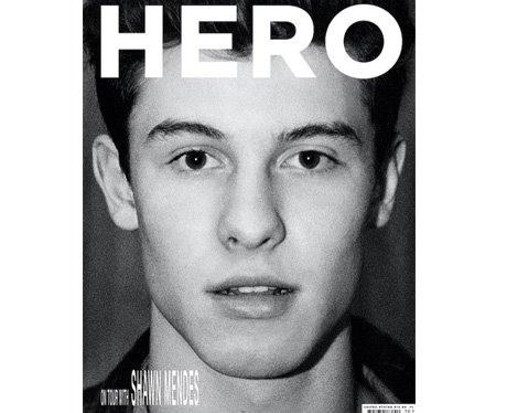 Shawn Mendes Hero Magazine cover