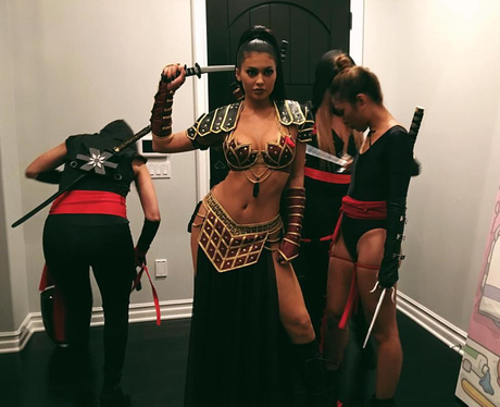 Celebs Who Go All Out For Halloween Kylie Jenner