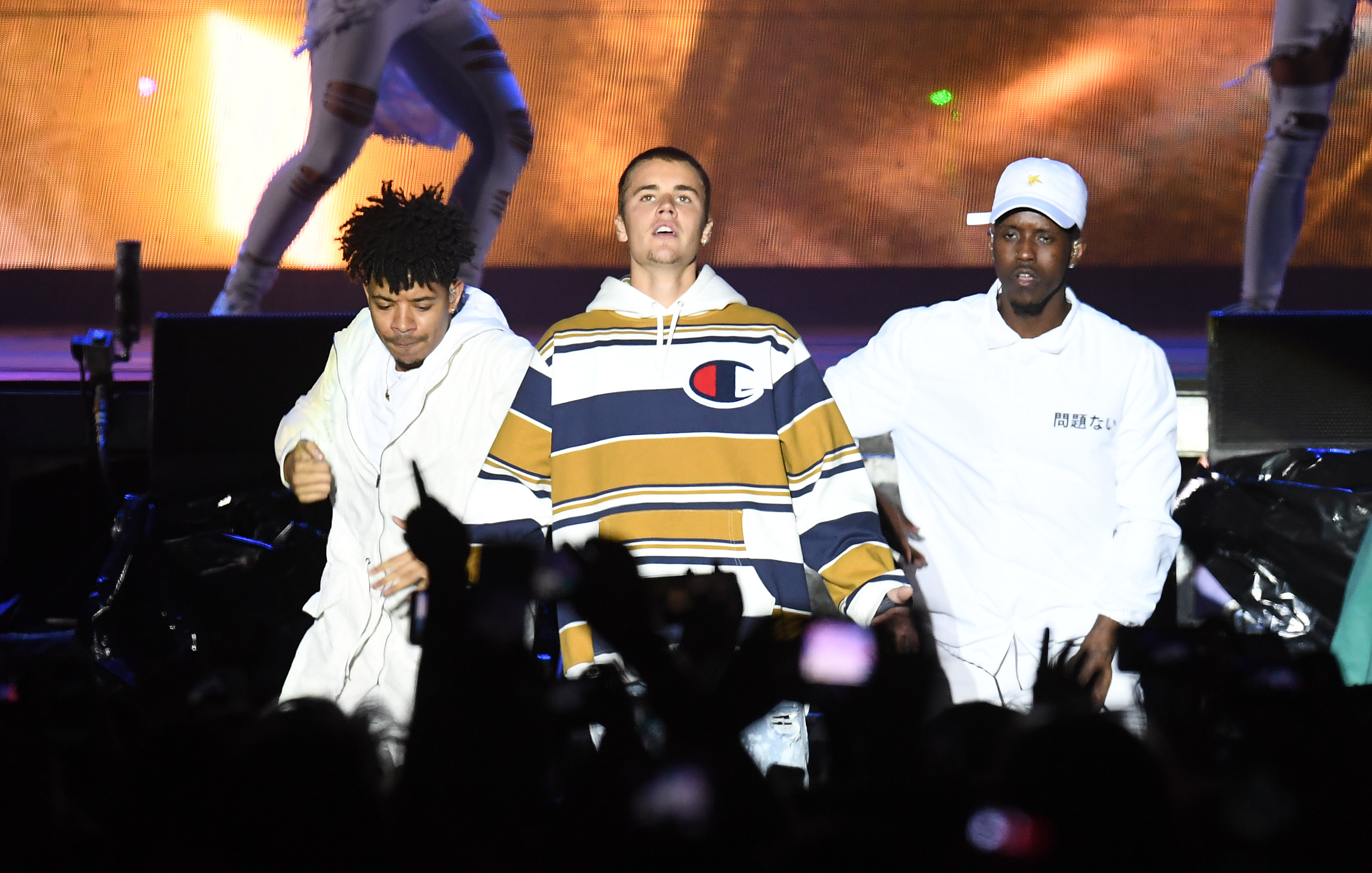 Justin Bieber at V Festival At Hylands Park - Day