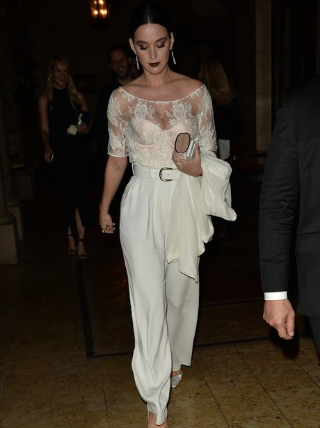 Katy Perry attends CFDA Fashion Fund event