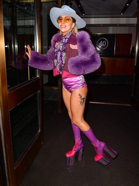 Lady Gaga channels her inner Madonna