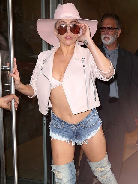 Lady Gaga steps out in another revealing outfit