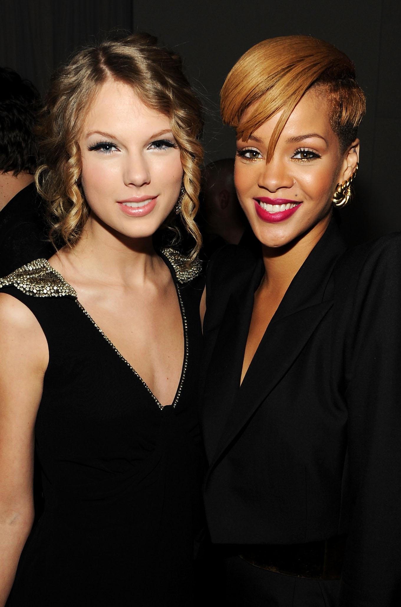 Taylor Swift & Rihanna at the VEVO Launches Premie