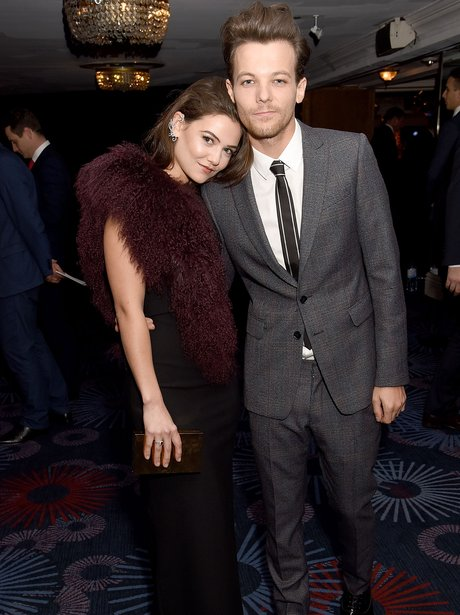 Danielle Campbell and Louis Tomlinson cosy up at P