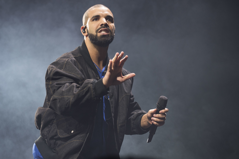 Drake at the Soul Train Awards