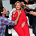 Image 3: Katy Perry dresses up as Hilary Clinton for Hallow