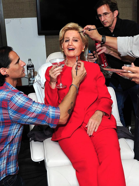 Katy Perry dresses up as Hilary Clinton for Hallow