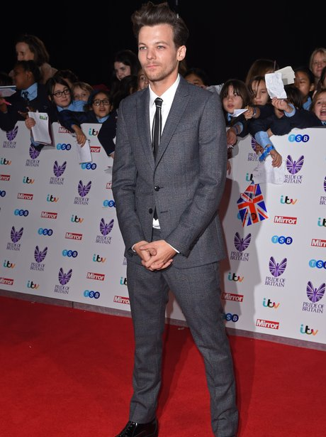 Louis Tomlinson at the Pride of Britain awards