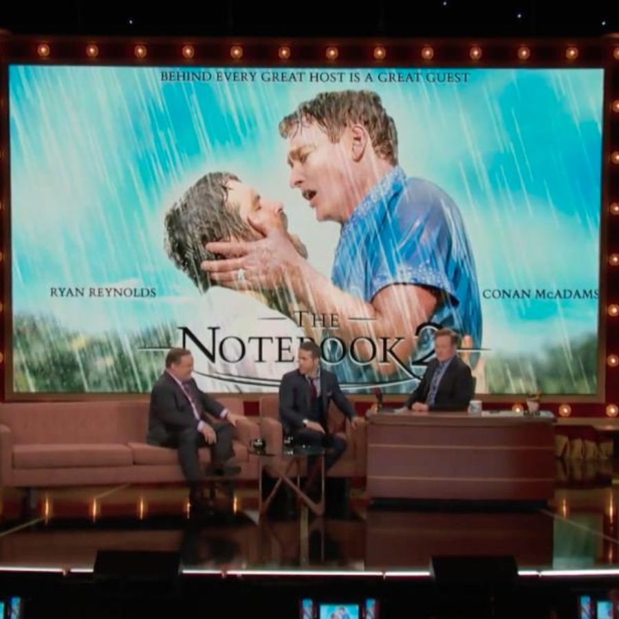 "Ryan Reynolds & Conan Star In ""The Notebook 2"""
