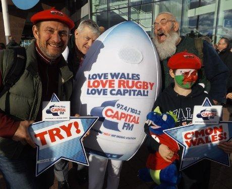 Spot the Ball Wales v Australia
