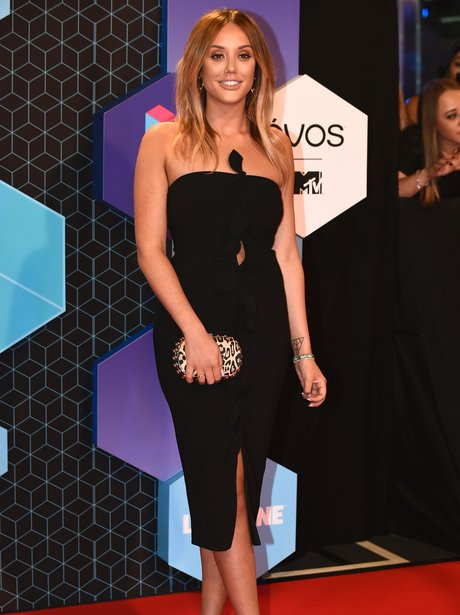 Charlotte Crosby at the EMA's