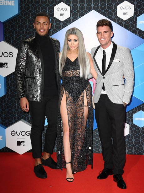Geordie Shore's Nathan, Chloe and Gaz on the EMA's