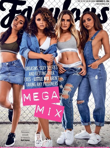 Little Mix Fabulous UK Cover