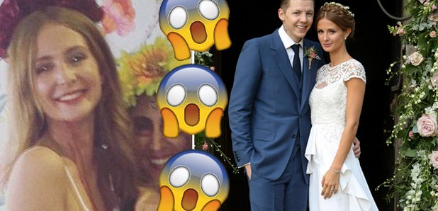 Millie Mackintosh covered her wedding dress in fak  sc 1 st  Capital FM & Did Millie Mackintosh ACTUALLY Cut Up And Cover Her Wedding Dress In ...