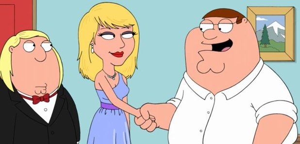 Taylor Swift S Going To Be Appearing In Family Guy But They Ve Seriously Done Her Capital