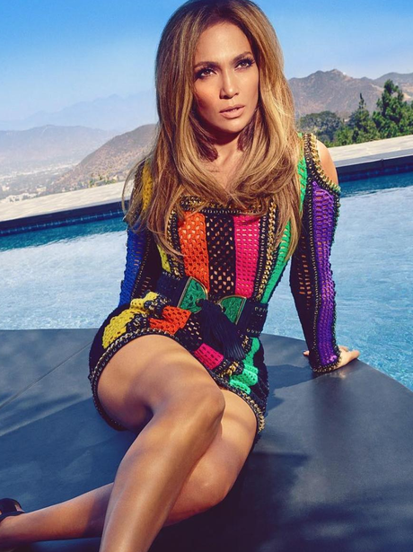J.Lo poses for Harper's Bazaar