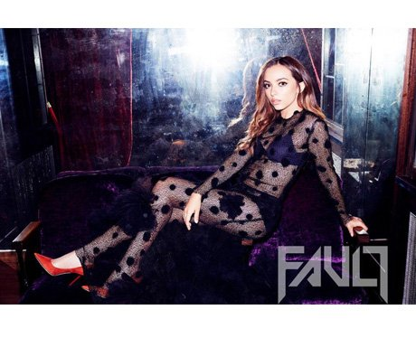 Little Mix's Jade for Fault magazine