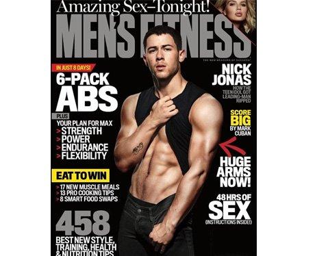 Nick Jonas Men's Fitness
