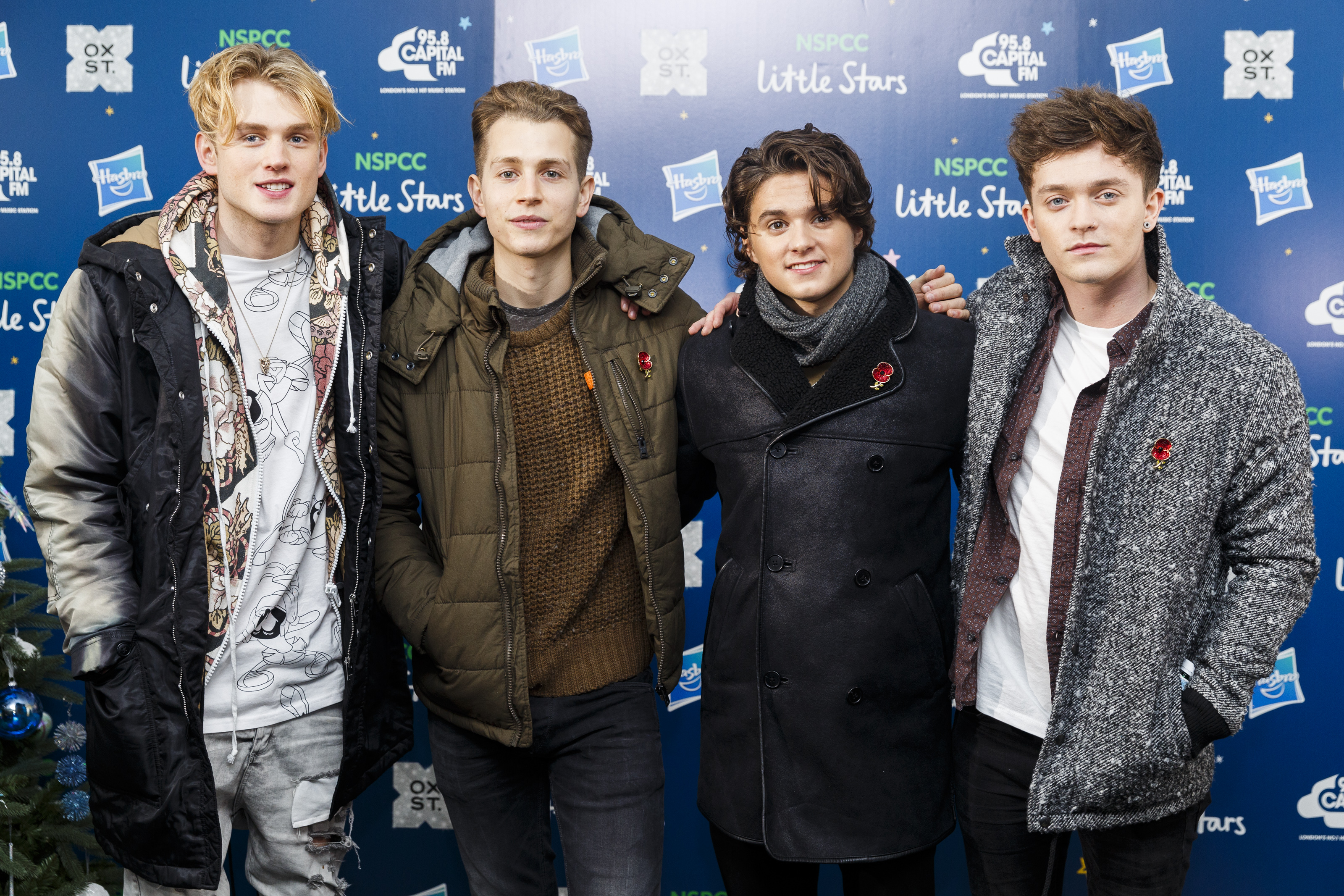 The Vamps at 'Craig David Switches On The Oxford S