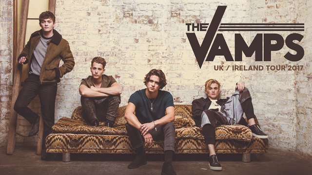 The Vamps Uk Ireland Tour  Arena May
