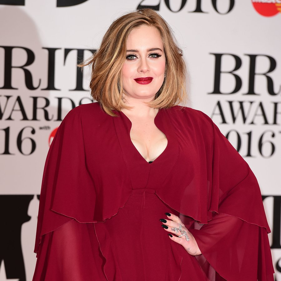 Adele BRIT Awards 2016