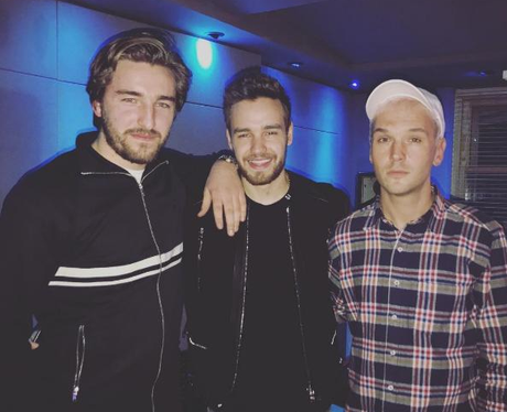 Preston with Liam Payne instagram