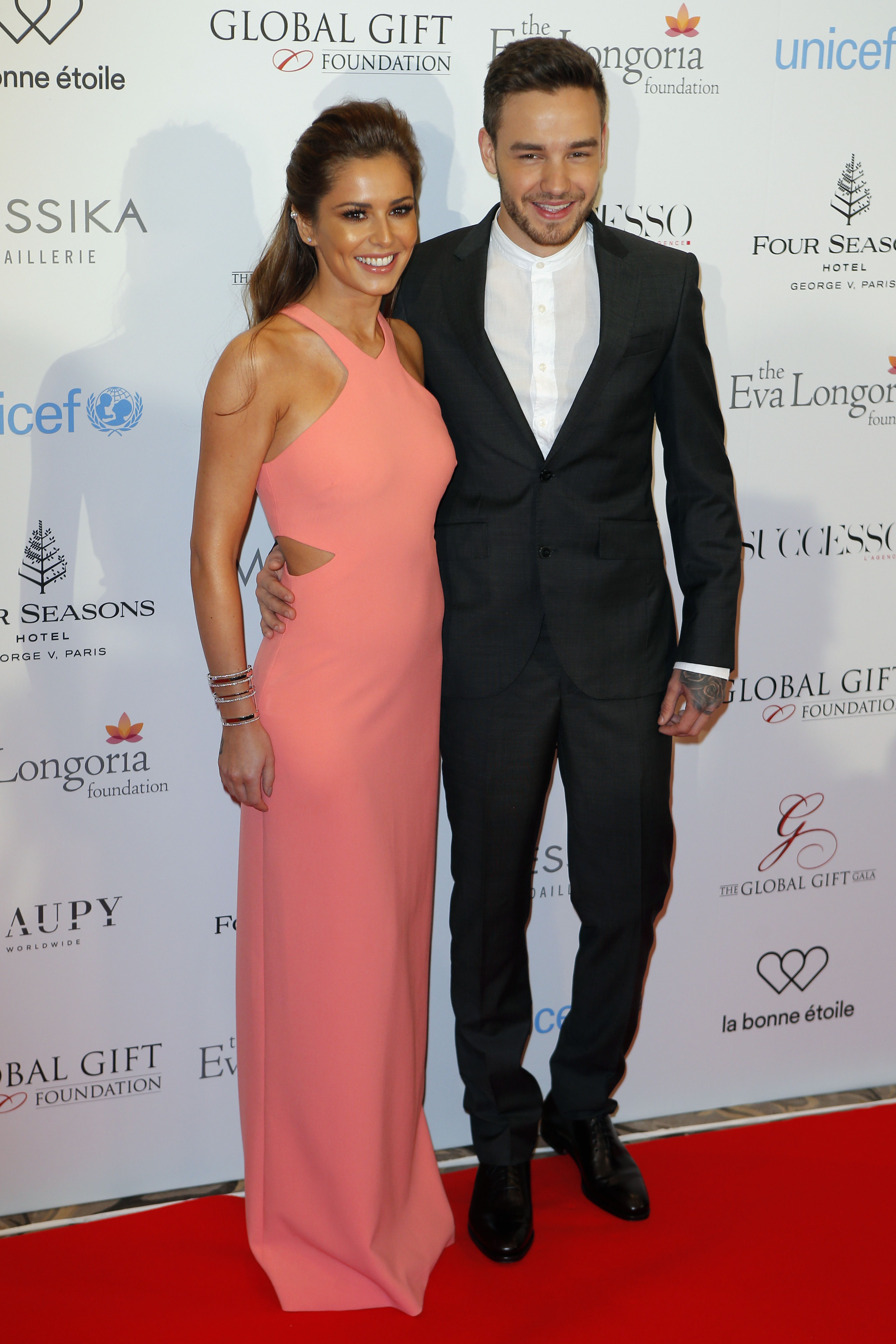 Cheryl & Liam Payne at Global Gift Gala