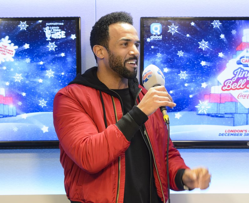 Craig David Jingle Ball Ball 2016 Backstage