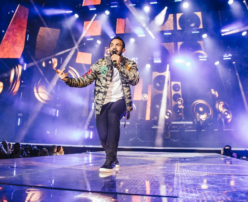 Craig David Jingle Bell Ball 2016