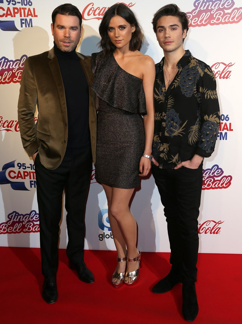 Dave Berry, Lilah Parsons and George Shelley Jingl