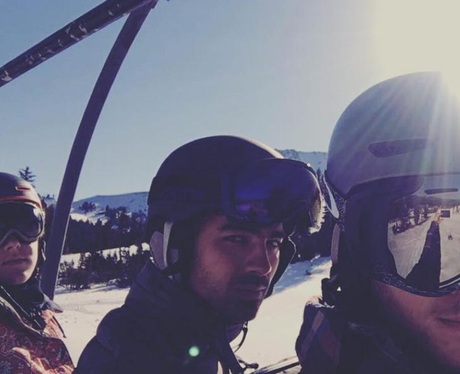 Joe Jonas and Nick Jonas take younger brother, Fra
