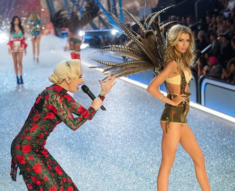 Lady Gaga performs at Victoria's Secret