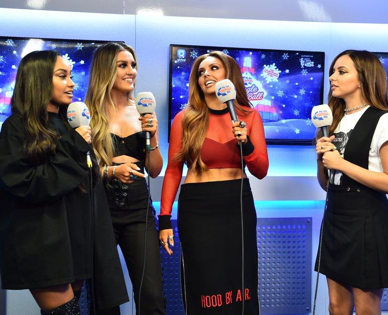 Little Mix Jingle Ball Ball 2016 Backstage