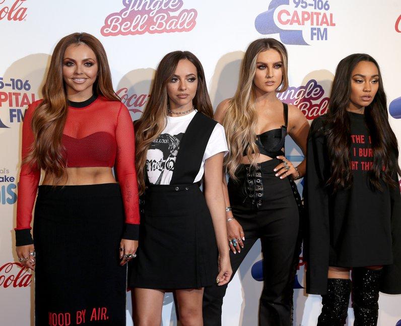 Little Mix Jingle Bell Ball 2016 Red Carpet