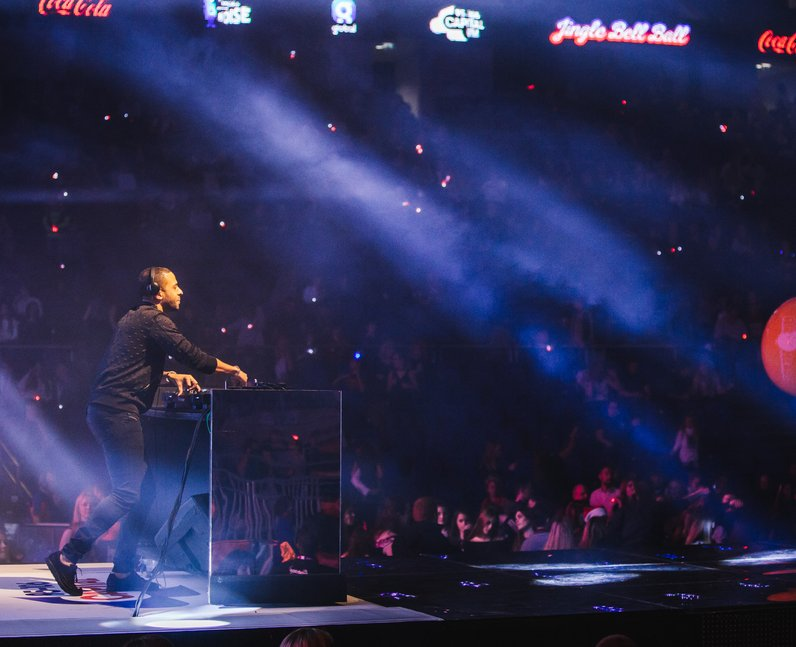Marvin Humes Jingle Bell Ball 2016