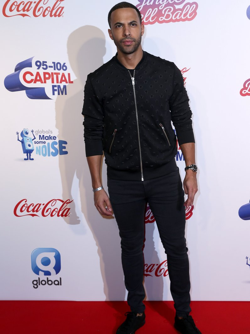 Marvin Humes Jingle Bell Ball 2016 Red Carpet