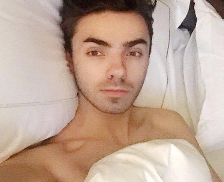 Nathan Sykes has a chilled evening ahead of his Ji