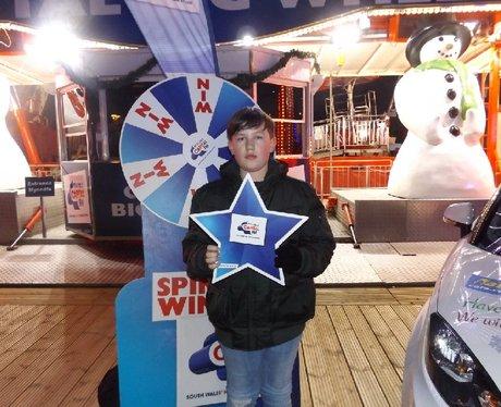 Nathaniel Cars At Winter Wonderland 02/12/16