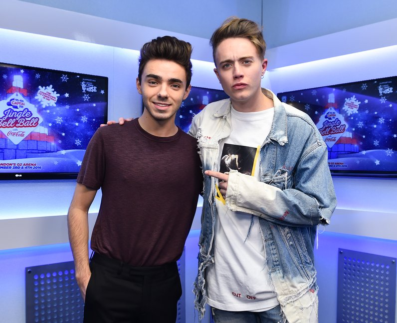 Roman Kemp Jingle Bell Ball 2016 Backstage