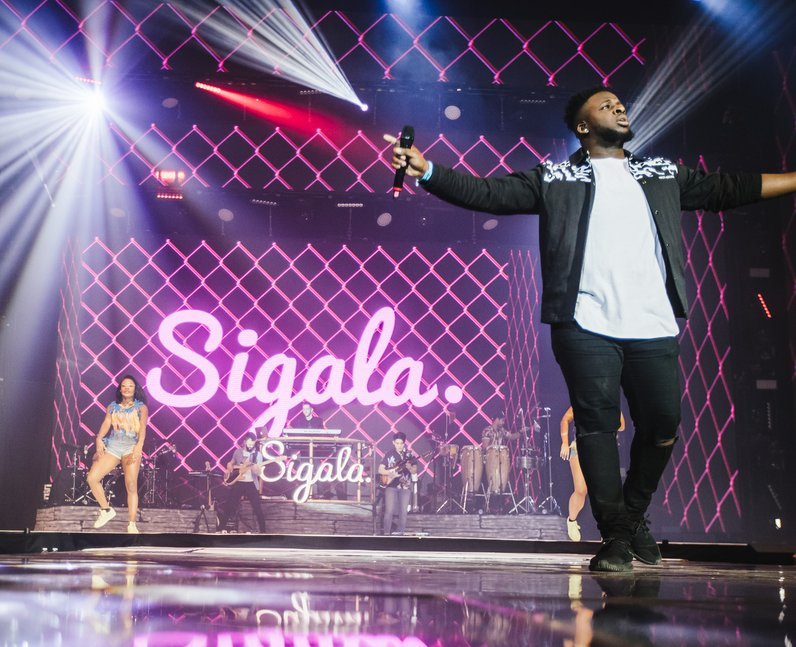 Sigala Jingle Bell Ball 2016
