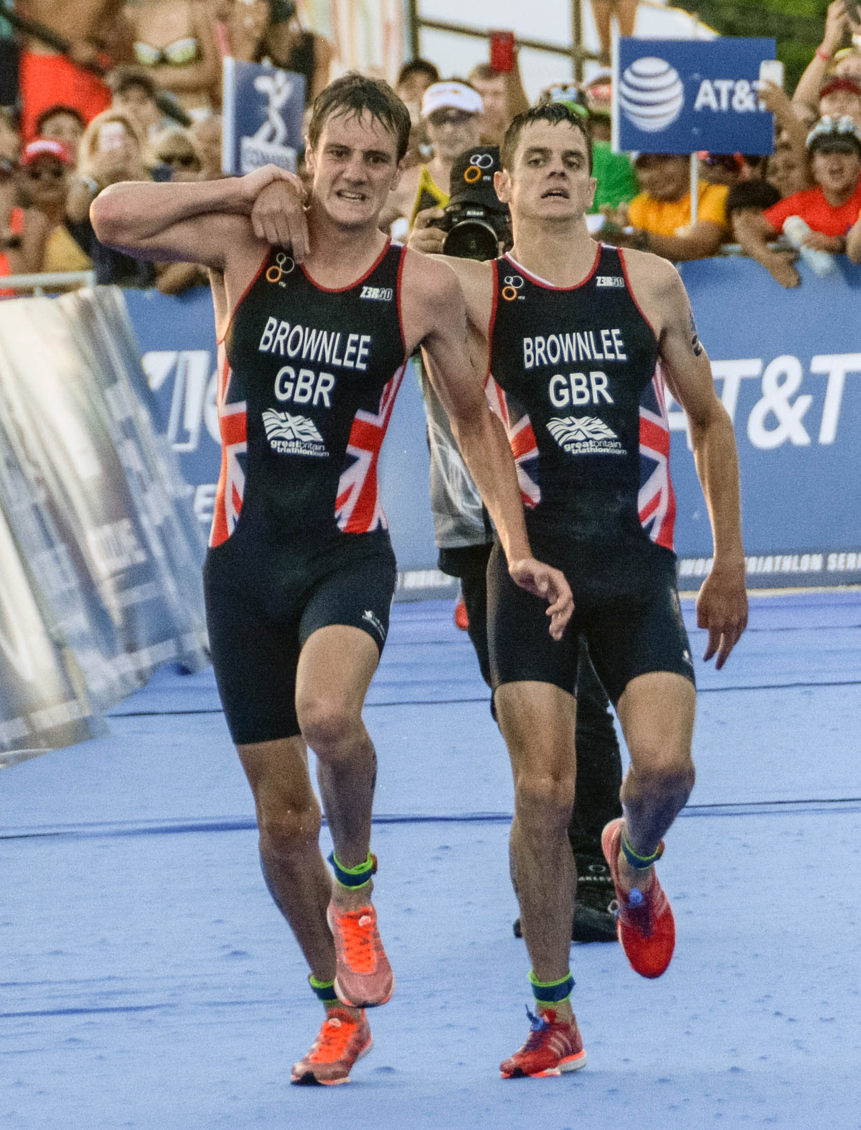 Brownlee Brothers ITU World Triathlon Championship