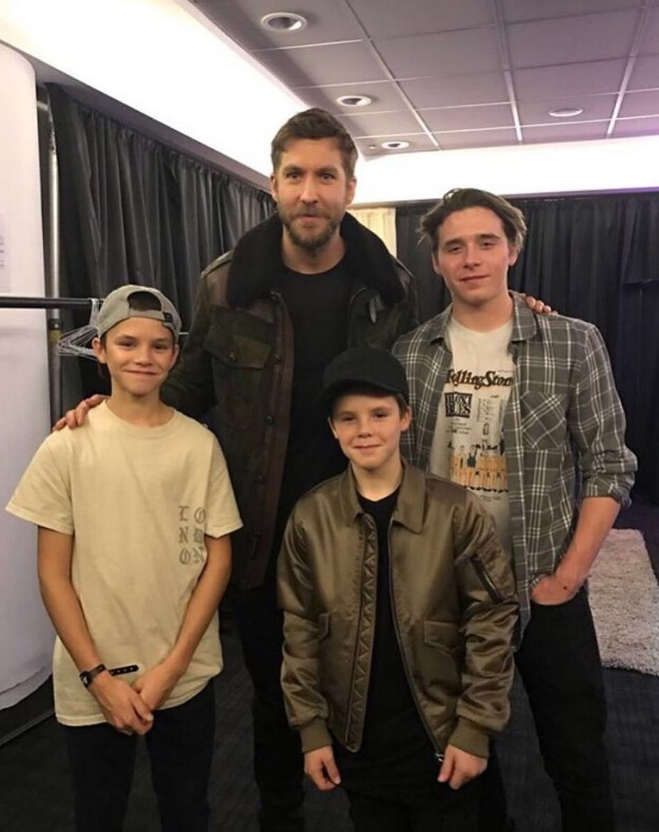 Calvin Harris With The Beckhams